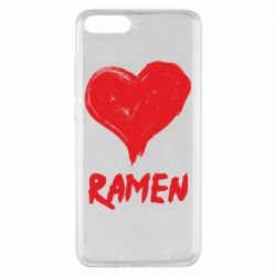 Чохол для Xiaomi Mi Note 3 Love ramen