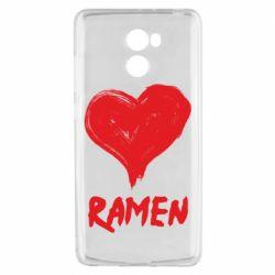 Чехол для Xiaomi Redmi 4 Love ramen