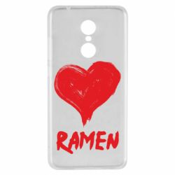 Чехол для Xiaomi Redmi 5 Love ramen