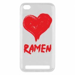 Чехол для Xiaomi Redmi 5A Love ramen