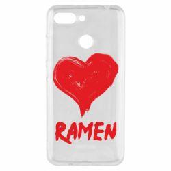 Чехол для Xiaomi Redmi 6 Love ramen
