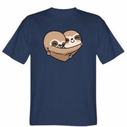 Чоловіча футболка Love sloths