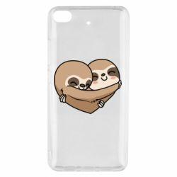 Чехол для Xiaomi Mi 5s Love sloths