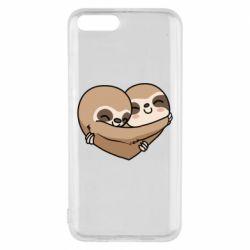 Чехол для Xiaomi Mi6 Love sloths