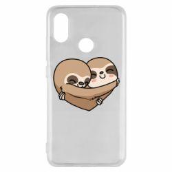 Чехол для Xiaomi Mi8 Love sloths