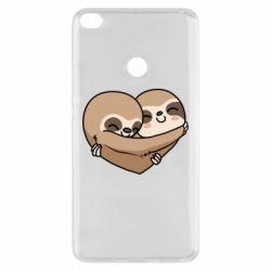 Чехол для Xiaomi Mi Max 2 Love sloths