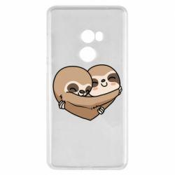 Чехол для Xiaomi Mi Mix 2 Love sloths
