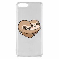 Чехол для Xiaomi Mi Note 3 Love sloths