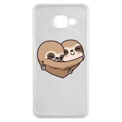 Чохол для Samsung A3 2016 Love sloths