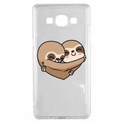Чохол для Samsung A5 2015 Love sloths