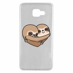 Чохол для Samsung A7 2016 Love sloths