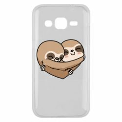 Чохол для Samsung J2 2015 Love sloths