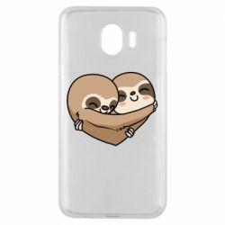 Чохол для Samsung J4 Love sloths