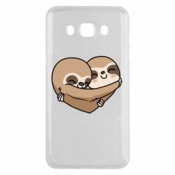 Чохол для Samsung J5 2016 Love sloths