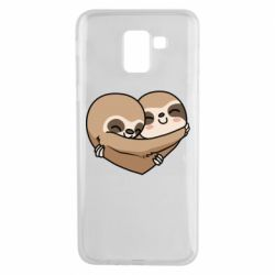 Чохол для Samsung J6 Love sloths