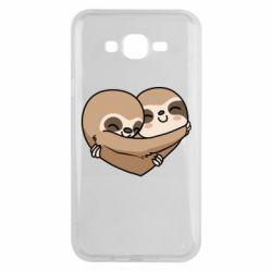 Чохол для Samsung J7 2015 Love sloths