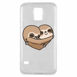 Чохол для Samsung S5 Love sloths