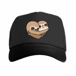 Кепка-тракер Love sloths
