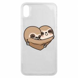 Чохол для iPhone Xs Max Love sloths