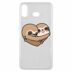 Чохол для Samsung A6s Love sloths