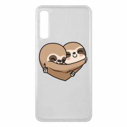 Чохол для Samsung A7 2018 Love sloths