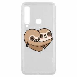 Чохол для Samsung A9 2018 Love sloths