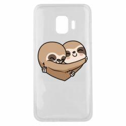 Чохол для Samsung J2 Core Love sloths