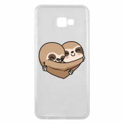 Чохол для Samsung J4 Plus 2018 Love sloths