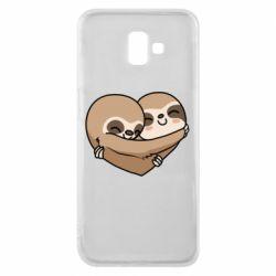 Чохол для Samsung J6 Plus 2018 Love sloths