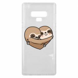Чохол для Samsung Note 9 Love sloths