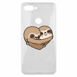 Чехол для Xiaomi Mi8 Lite Love sloths