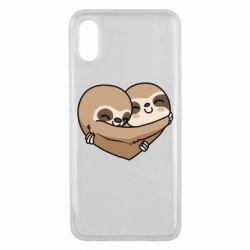 Чехол для Xiaomi Mi8 Pro Love sloths
