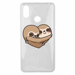 Чехол для Xiaomi Mi Max 3 Love sloths