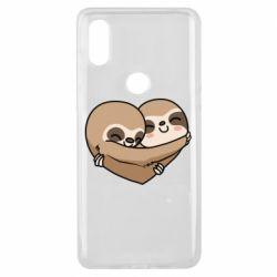 Чехол для Xiaomi Mi Mix 3 Love sloths