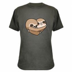 Камуфляжна футболка Love sloths