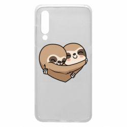 Чехол для Xiaomi Mi9 Love sloths