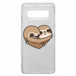 Чохол для Samsung S10+ Love sloths