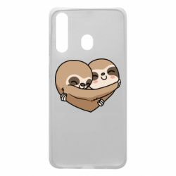 Чохол для Samsung A60 Love sloths