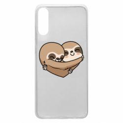 Чохол для Samsung A70 Love sloths