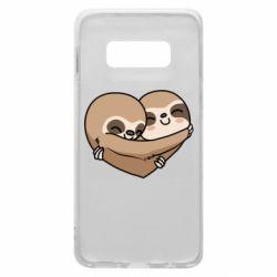 Чохол для Samsung S10e Love sloths
