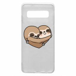 Чохол для Samsung S10 Love sloths