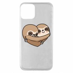 Чохол для iPhone 11 Love sloths