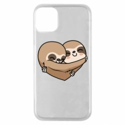 Чохол для iPhone 11 Pro Love sloths