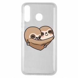 Чохол для Samsung M30 Love sloths