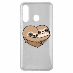 Чохол для Samsung M40 Love sloths