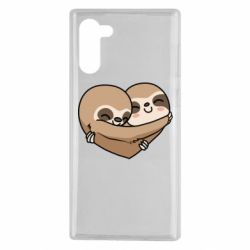 Чохол для Samsung Note 10 Love sloths