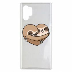 Чохол для Samsung Note 10 Plus Love sloths