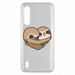 Чехол для Xiaomi Mi9 Lite Love sloths