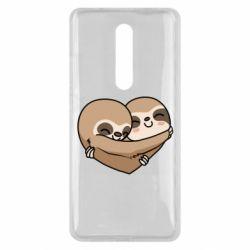 Чехол для Xiaomi Mi9T Love sloths