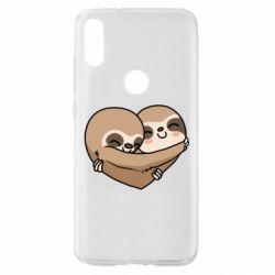 Чехол для Xiaomi Mi Play Love sloths